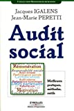 Audit social : Meilleures pratiques, mthodes, outils - Eyrolles - 2008
