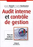 Audit interne et contrle de gestion : Pour une meilleure collaboration - Eyrolles 2011