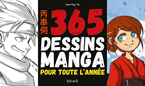 365 dessins manga pour toute l'année