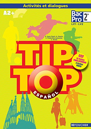 TIP TOP ESPAGNOL Seconde CD Audio