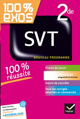 SVT 2de: exercices résolus (sciences de la vie et de la Terre) - Seconde