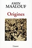 Couverture : Origines