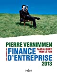 Finance d&#8217;entreprise - P. Vernimmen - 11 dition - Dalloz 2013