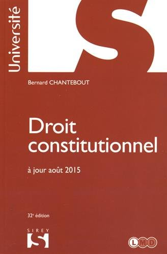 Droit constitutionnel - 32e éd.
