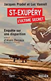 Couverture : Saint-Exupéry, l'ultime secret