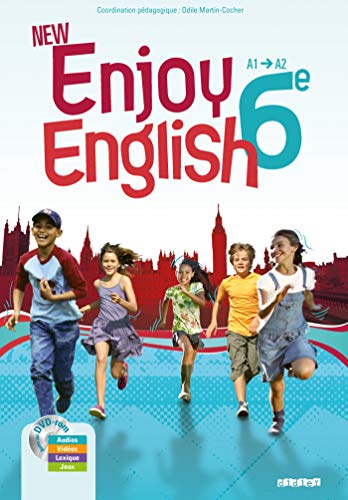 New Enjoy English 6e - Manuel + DVD-rom par Sophie Plays, Elodie Vialleton, Michèle Meyer