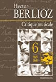 Couverture : Critique musicale : Volume 6, 1845-1848