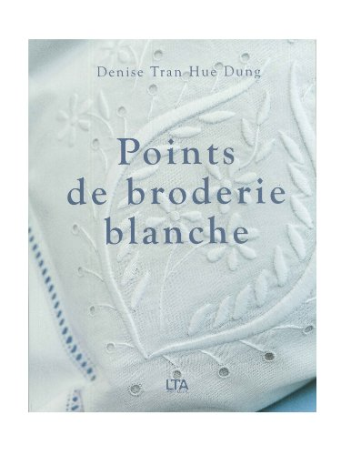 Points de broderie blanche