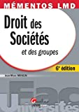 Droit des socits et des groupes - Mmentos LMD - Gualino 2012