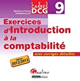 DCG 9 - Exercices d'introduction � la comptabilit� - Les carr�s - Gualino 2012/2013