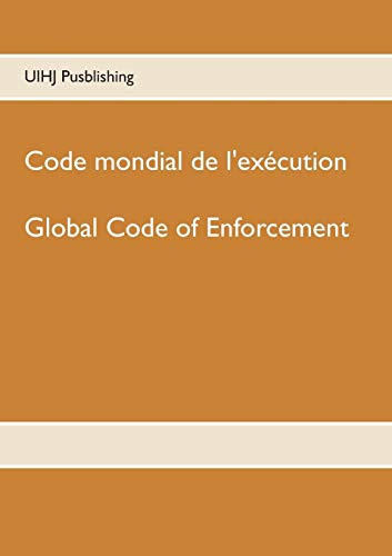 Code mondial de l'exécution : Global Code of enforcement