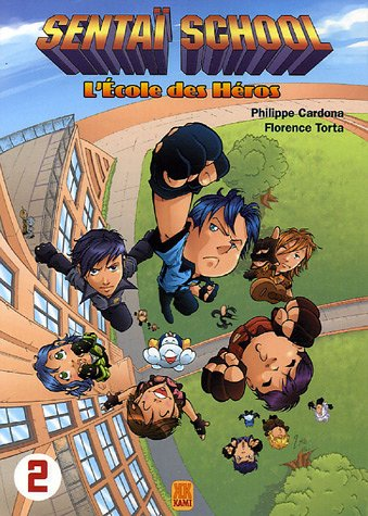 Couverture Sentai school tome 2
