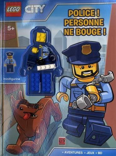 LEGO CITY POLICE ! PERSONNE NE BOUGE !