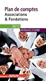 Plan de comptes - associations et fondations - OEC 2012