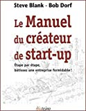 Le Manuel du cr�ateur de start-up