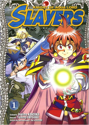 Slayers The Knight of Aqua Lord, Tome 1 :
