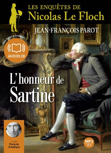 L'Honneur de Sartine: Livre audio 2 CD MP3