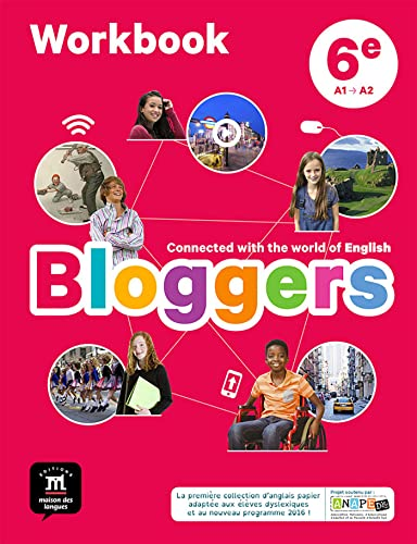 Bloggers 6e (A1-A2) - Workbook d'anglais