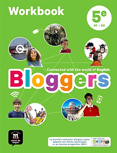 Bloggers 5e (A1-A2) - Workbook d'anglais