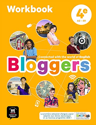 Bloggers 4e (A2-B1) - Workbook d'anglais
