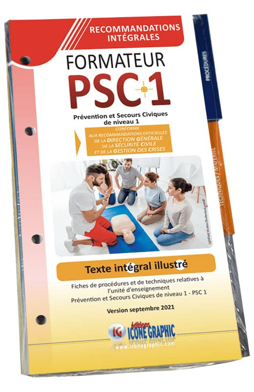 Guide Technique du Formateur PSC1 par Icone Graphic