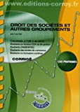 DCG 2 - Droit des socits - Corrigs - Pochette Corroy 2012