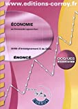 DCG 5 - Economie  - Enonce - Pochette Corroy - 2012