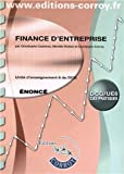 DCG 6 - Finance d'Entreprise - Enonce - Pochette Corroy - 2012
