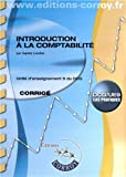 DCG 9 - Introduction � la comptabilit� - Corrig�s - Pochette Corroy 2012