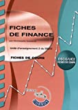 DSCG 2 - Fiches de Finance - Pochette Corroy 2012