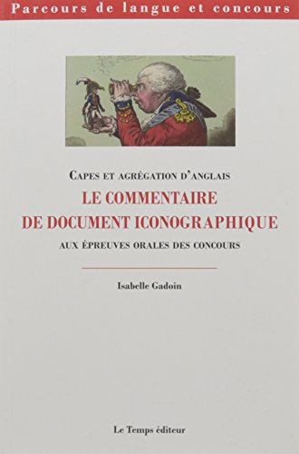 LE COMMENTAIRE DE DOCUMENT ICONOGRAPHIQUE