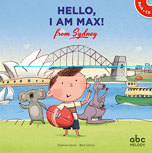 Hello, I am Max from Sydney (Livre-CD)