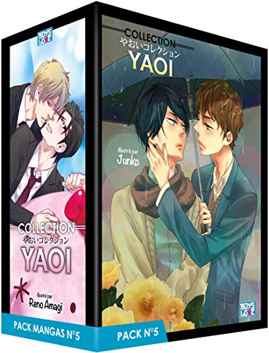 Boy's Love Collection - Pack n°5 - Manga Yaoi (5 tomes)