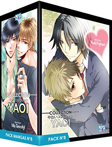 Boy's Love Collection - Pack n°8 - Manga Yaoi (5 tomes) par Reno Amagi, Mio Tennohji, Pariko London, Moegi Yukue, Yuuki Fujinari