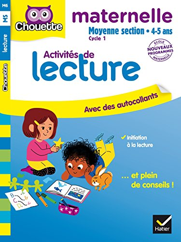 Lecture Moyenne Section 4-5 ans