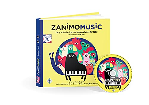 Zanimomusic : Zany animal sing toe-tapping tunes for tots! (1CD audio)