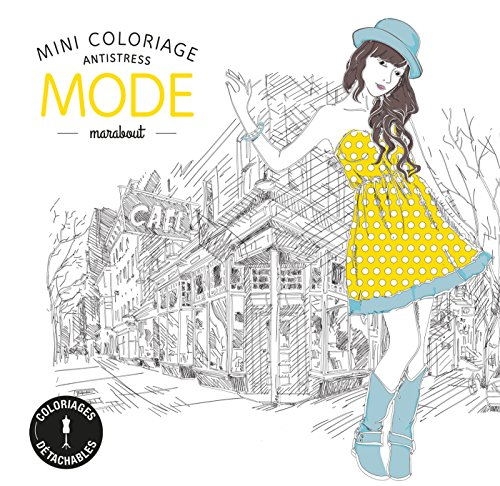 Mini coloriage antistress Mode