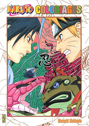 Naruto - coloriages, tome 1