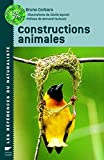 Couverture : Constructions animales