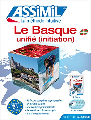 Le Basque Unifié (Initiation) ; Livre + CD Audio (x3)