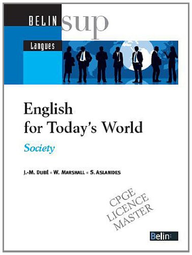 English for Today's World : Society (+CD audio)