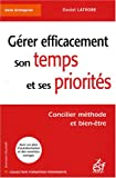 Grer efficacement son temps et ses priorits - ESF 2008