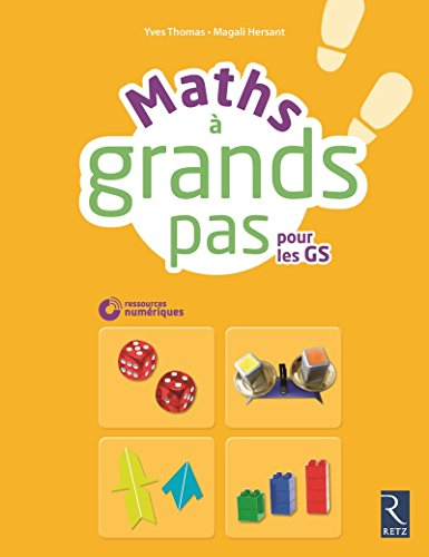 Maths à grands pas (+ CD ROM) par Magali Hersant, Yves Thomas