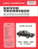 Revue Technique CHRYSLER 160