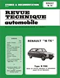 RENAULT R16 automotive repair manual