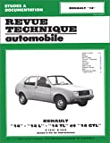 RENAULT R14 automotive repair manual