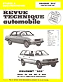 PEUGEOT 305 automotive repair manual