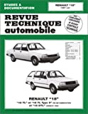 RENAULT R18 automotive repair manual