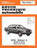 OPEL Rekord automotive repair manual
