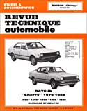 DATSUN Cherry automotive repair manual